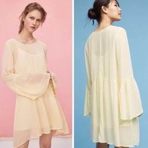 ANTHROPOLOGIE Lacausa 'Seashell' Tunic Dress XS